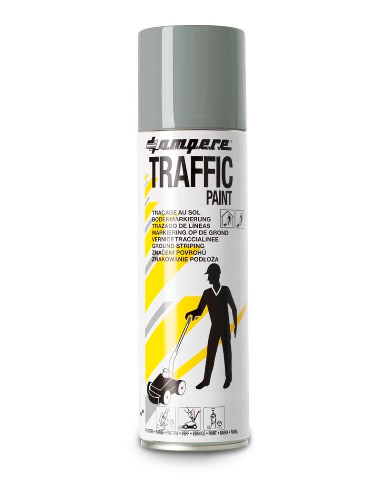 Bodenmarkierfarbe TRAFFIC, grau, 12 x 500ml netto